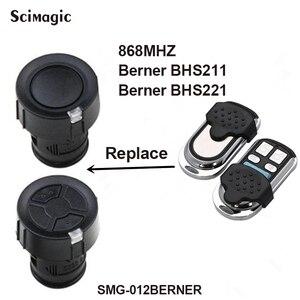 Image 1 - 4 channel HORMANN HSM 4 BERNER 868 mhz remote control garage door Remote transmitter
