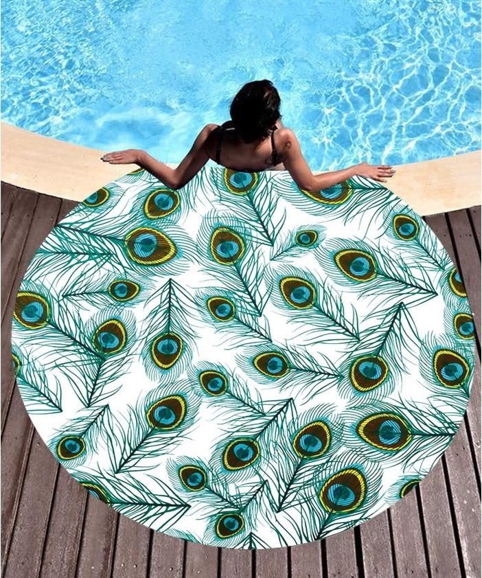 2019 New European And American Sunscreen Shawl Silk Sunscreen Digital Printed Beach Towel St06-68