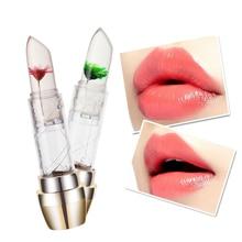 Flower Lipstick Lip Kit rouge a levre matte maquiagem labiales matte Temperature Changes Lip Balm Moisturizing Bright Nourishing