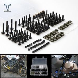 Image 1 - ملحقات الدراجات النارية العالمية التي تعمل بالتحكم العددي بواسطة الحاسوب/مجموعة مسامير براغي للزجاج الأمامي لسيارة Honda st 1300 st1300 crf1000l africa twin vfr1200f