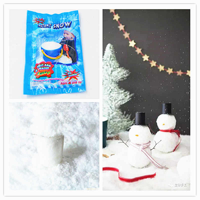 1pcs Snowdrift Modeling Clay Slime Fluffy Floam Kids Toys Polymer Educational Toys Safe Cotton Anti Stress Plasticine Gifts