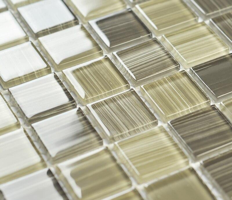 cristal d ehgma mosaico de azulejos para la cocina backsplash cuarto de bao ducha comedor