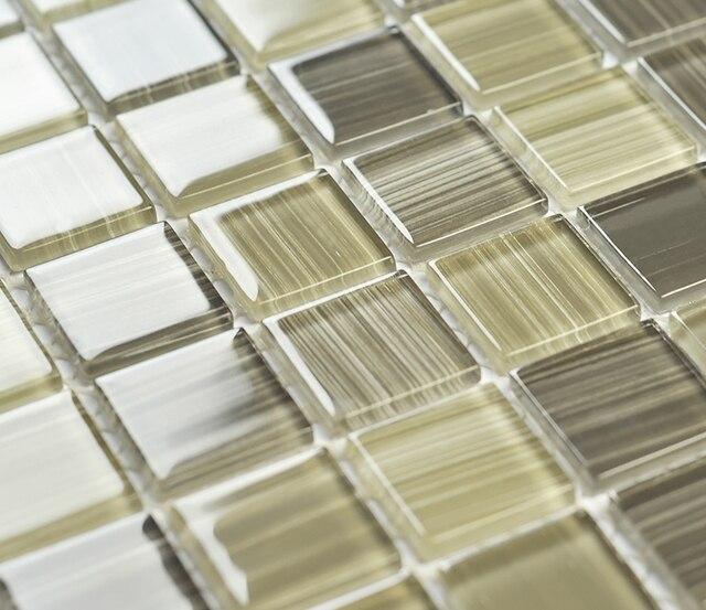 Us 19228 8 Offszkło Kryształowe Mozaiki 3d Handpainting Ehgm1010a Dla Kuchni Backsplash łazienka Z Prysznicem Mozaiki ścienne Jadalnia W Szkło