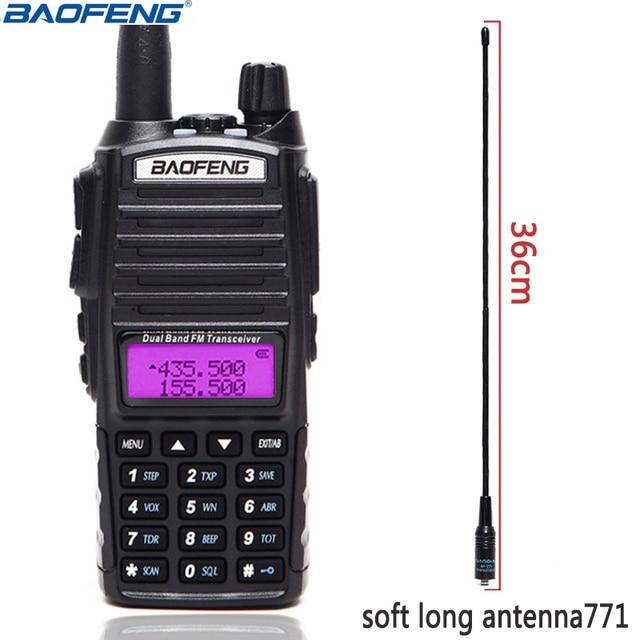 Baofeng UV 82 Portable Radio UV82 5W Walkie Talkie VHF/UHF Dual Band Pofung UV 82 CB Ham Amateur Two Way Radio Transceiver