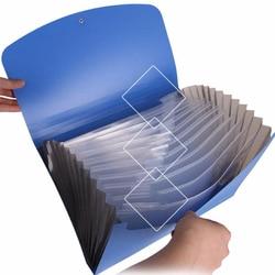 ديلي الأعمال نمط توسيع محفظة 13 حالة A4 حجم أوراق المجلدات مجلد ملفات بيل حافظة مستندات ل A4 للمستندات حامل