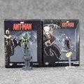 1 unids 6 cm Marvel Figuras de Anime Hombre Hormiga Hornets Warrior Acción Fugires Modelo Muñeca Avengers Toy