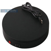 300X60MM 2 Pure Color Electric Automatic Rotary Rotating Turntable Jewelry Display Stand With FUSE Protection FCC