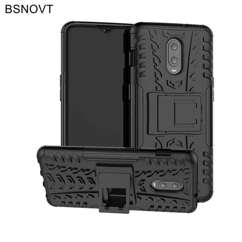 Oneplus 6T Case Back Cover Oneplus 6T Silicone Phone Case Armor Bumper Case Funda Oneplus 6T Phone Case Funda Capa BSNOVT