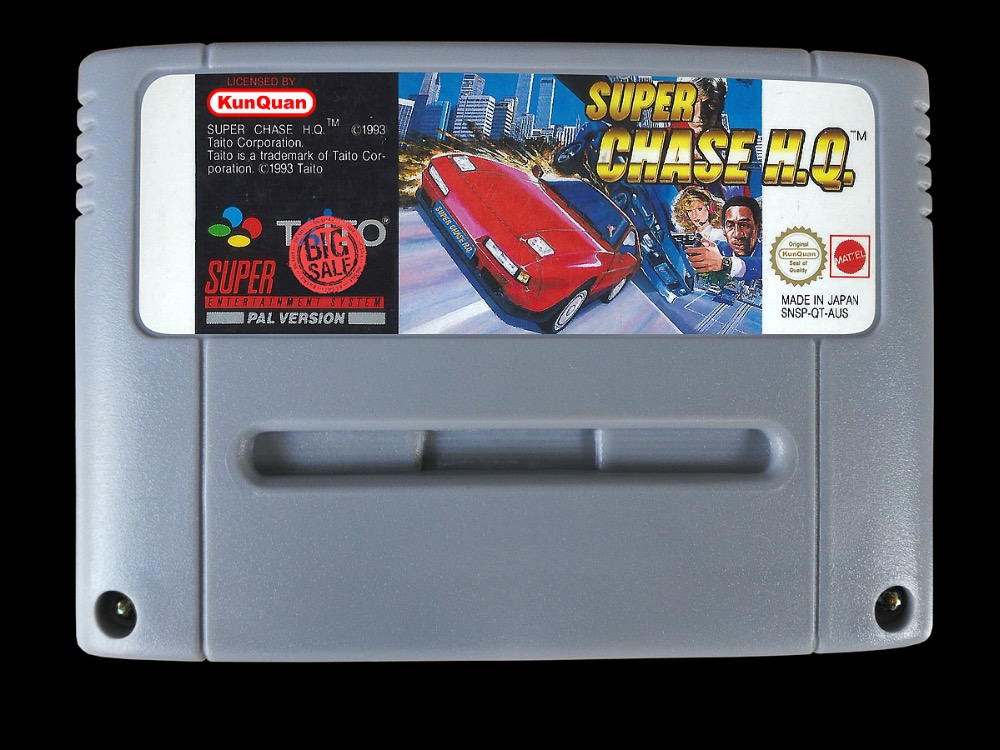 16Bit Games ** Super Chase H.Q. ( PAL European Version!! )