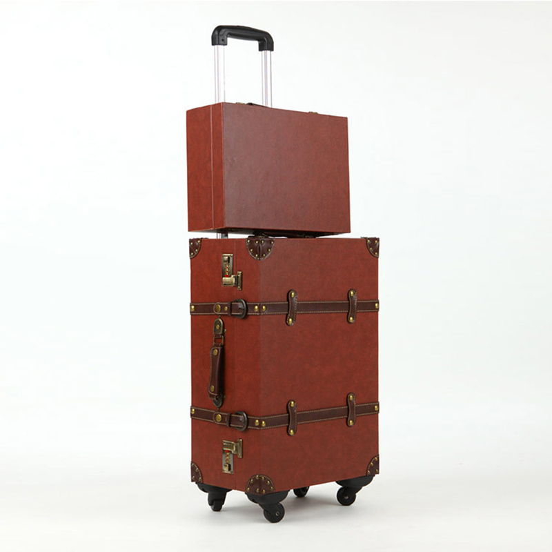 Online Get Cheap Vintage Luggage Sets Pu Travel Suitcases ...