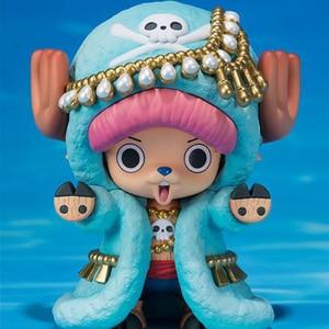 Image 5 - Nuovo One Piece Action Figures Anime Carino Tony Tony Chopper Renna ornamenti giocattoli bambola regalo di Modelli in pvc collezione Figurine WX262