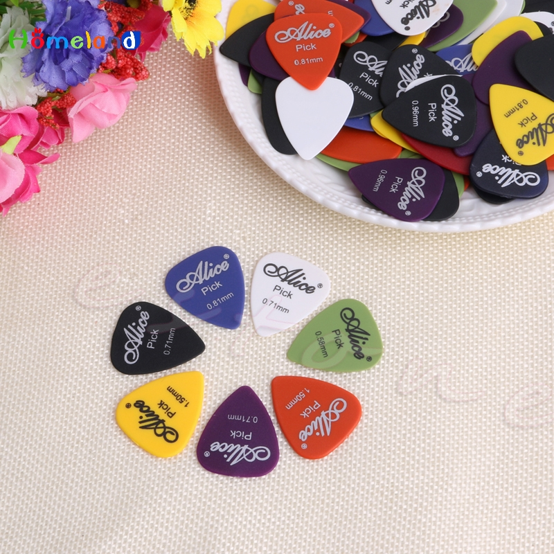 100pcs Acoustic Electric Guitar Picks Plectrum Various 6 thickness w/ Pick Box Jul4_25 ...