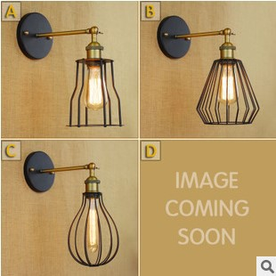 60W Retro Loft Style Edison Vintage Wall Light Fixtures For Home Lighting Industrial Wall Lamp,Wall Sconce Lamparas De Pared купить