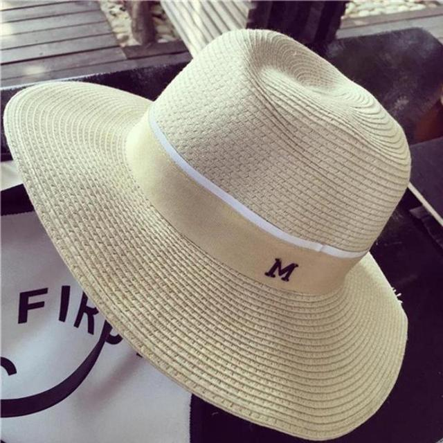 1fa93d29a YOCCAS Star With A Super Big Texture Panama Hat Summer M Brand New With A  Female M Cap Hat Chapeu Panama Hat