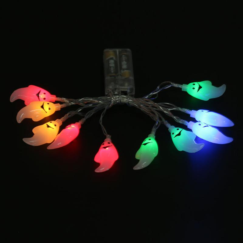 10 Led 1.5M Ghost String Lights Indoor Outdoor Lamp