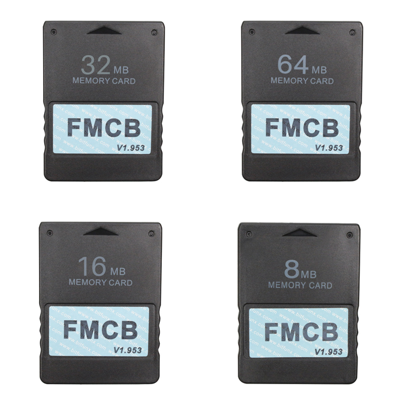 FMCB Free McBoot Card V1.953 For Sony PS2 Playstation2 8MB/16MB/32MB/64MB Memory Card OPL MC Boot