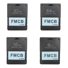 Carte McBoot gratuite FMCB v1.953 pour Sony PS2 Playstation2 8 mo/16 mo/32 mo/64 mo carte mémoire OPL MC Boot(China)