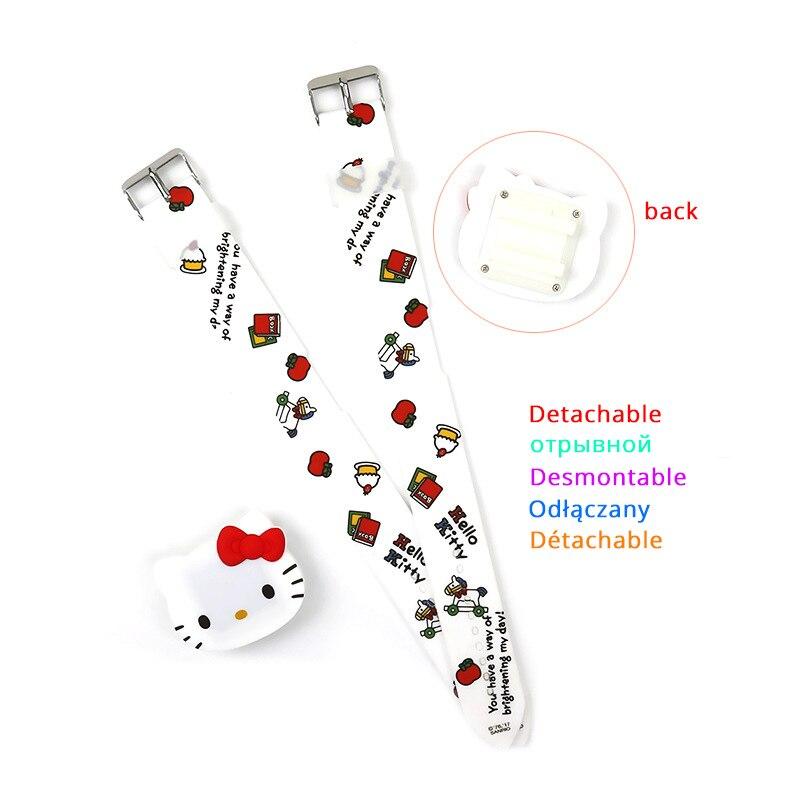 JOYROX Kids Часы 3D Cat Cartoon Rubber Child Watch Cut Electronic Clock Children Digital Montre Enfant For Girls Boys