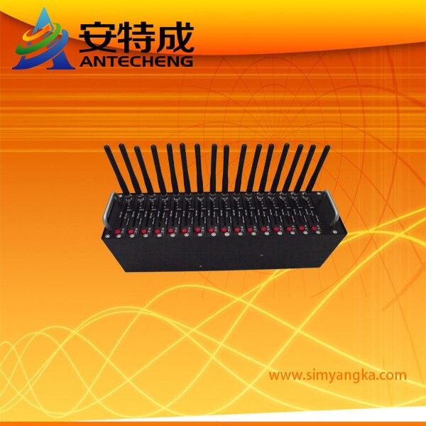 Factory GSM Wavecom Q2406 USB 16 Ports Modem Pool Bulk SMS gsm modem wavecom usb sim