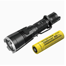Wholesale Rechargeable Flashlight NITECORE MH27 max.1000LM beam distance 462meter Multitask Torch Tactical light + 18650 3500mAh battery