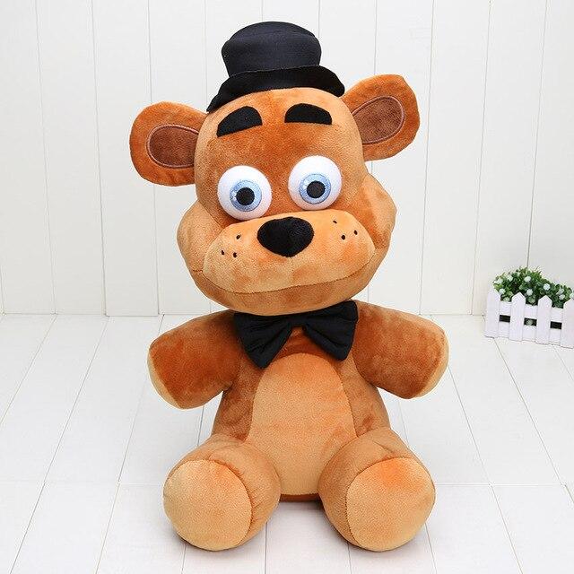 Big 18'' 45cm Five Nights At Freddy's 4 FNAF Bear Mangle foxy chica bonnie Plush Toys Doll Freddy Fazbear plush figure toys