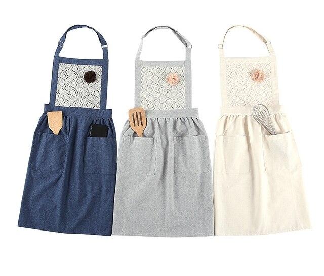 Us 2595 Kuchnia Fartuch śliczne Gotowanie Dorosłych Kobiet Talii Oleju Dowód Pieczenia Ubrania Robocze Moda Suknie W Kuchnia Fartuch śliczne