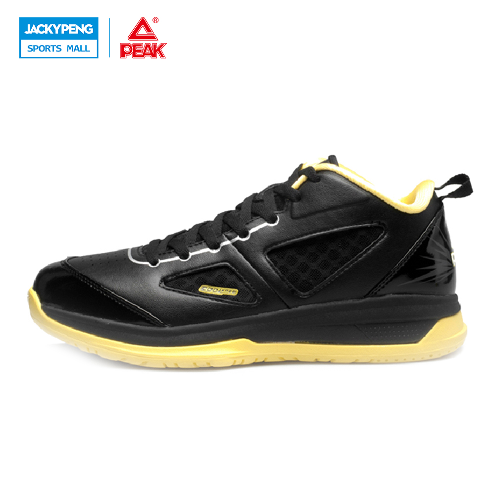 PEAK SPORTS Men Bas Basketball Shoes Authent COOL FREE Tech Breathable Ankle Boots Outdoor Medium Cut Athletic Sneakers peak sport men outdoor bas basketball shoes medium cut breathable comfortable revolve tech sneakers athletic training boots