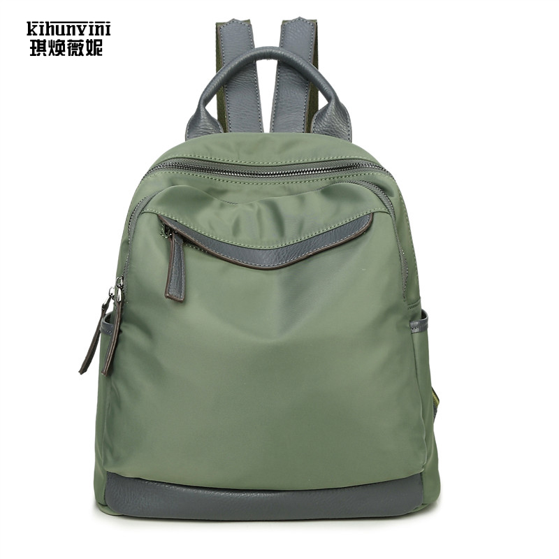 Fashion Women Backpack Heavy Duty Thick Oxford Cloth Backpacks Female  Mochila Preppy Girl Schoolbag Pack Weekender Bag Back Pack 98dd4f628bd20