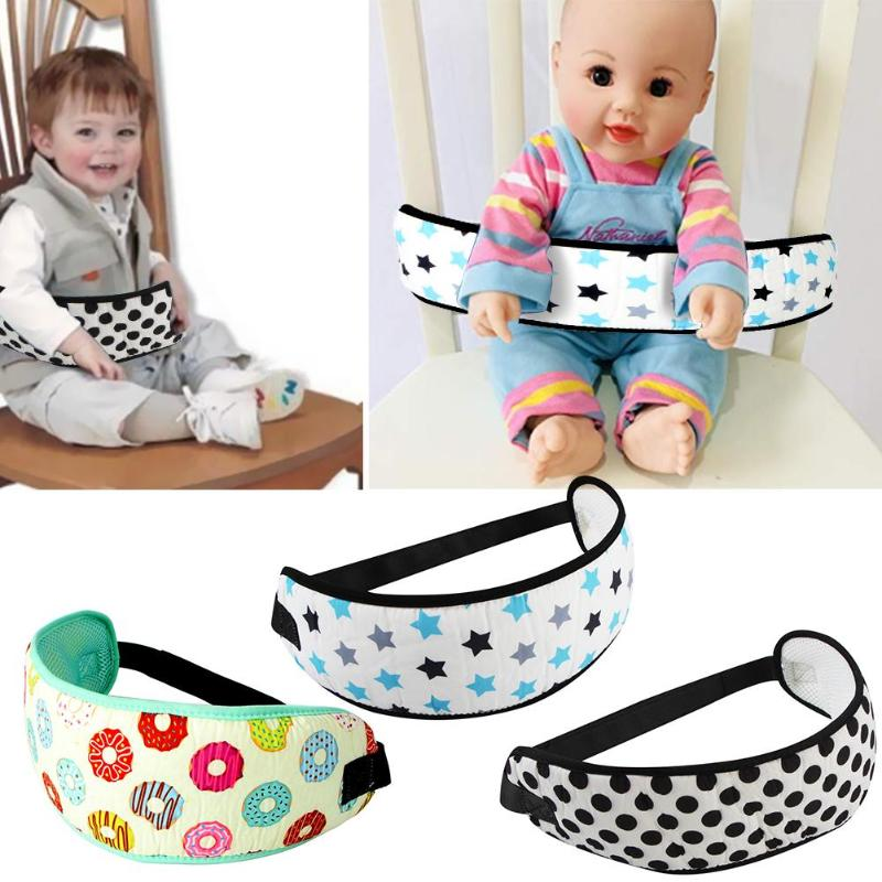 Baby Dining Chair Safety Belt Portable Infant Highchair Strap Wrap Carrier Adjustable Kid Car Seat Belts Toddler Stroller Strap