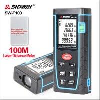 SNDWAY-telémetro láser, medidor de distancia, herramienta de medición de rango, minimedidor Digital, Sensor de distancia láser, SW-T100