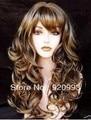 free P&P******* New Pretty wonderful brown mix women's full wig