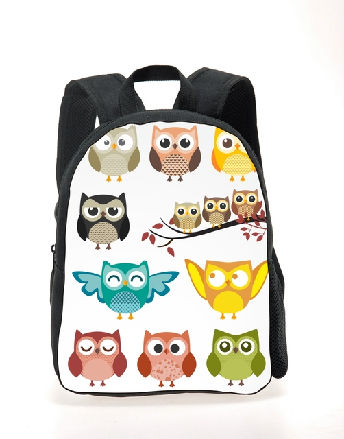 2016 Cute Animal Owl Backpack for Kids Cool Girls School Backpack Baby Toddler Bagpack Rucksack Mochila Kids