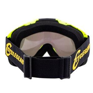 Image 5 - 100% Nguyên Bản Cyclegear Xe Máy Kính MX Cảo Tháo Kính Moto Gafas Xe Máy Mũ Bảo Hiểm Nguyệt San Lunette Bụi Bẩn Xe Đạp Oculos