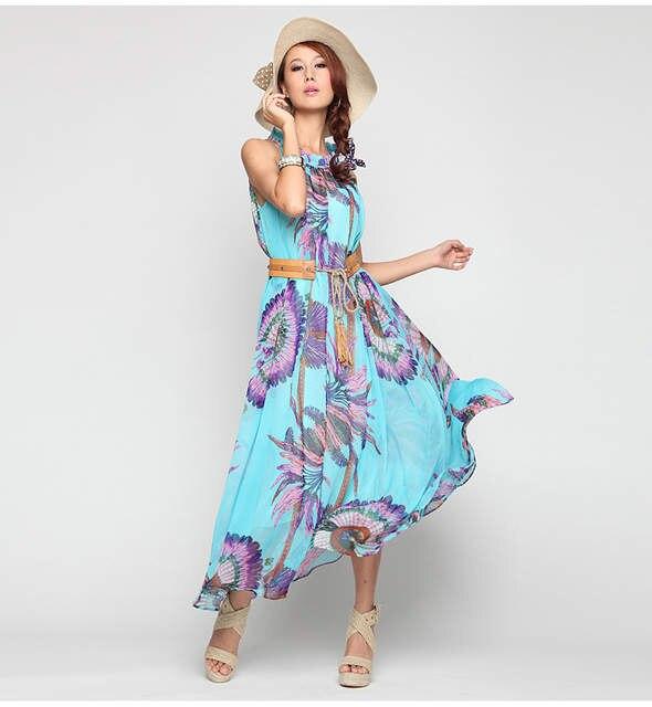 1b3881e6c67 placeholder Sexy Summer Beach Dress Bohemia Chiffon Maxi Dress Plus Size  6XL 5XL 4XL XXXL Seaside Vacation