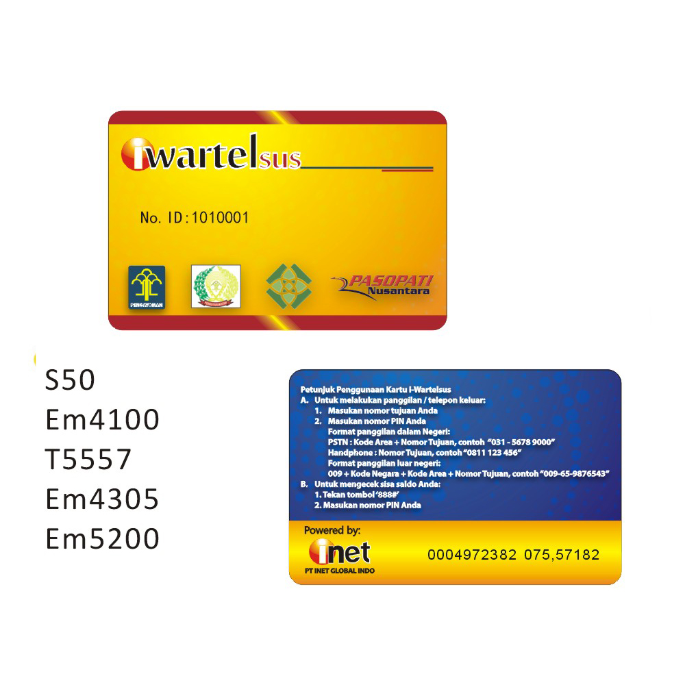500pcs /125Khz RFID Proximity ID Card printing. VIP card pirnting, access cards printing Double sided printing