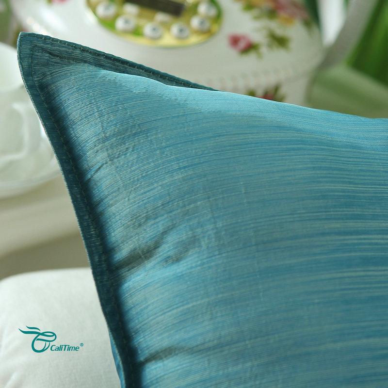 2PCS CaliTime spilvenu pārvalki, spilveni, apvalks, mākslīgais, - Mājas tekstils - Foto 5