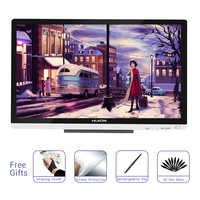Huion GT-220 V2 pluma Monitor profesional arte Digital gráficos del dibujo de la pluma de la tableta Monitor de 21,5 pulgadas HD con 8192 niveles