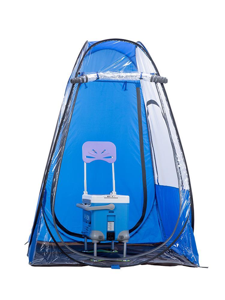 Tente extérieure portative de pêche de personne unique avec la fonction Uv glace un Camp de parasol