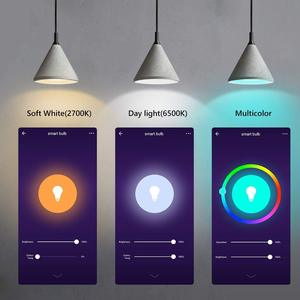 Image 3 - Tuya חכם אור הנורה E26 E27 Wifi Led אור RGB צבעוני Dimmable הנורה 220V 13W השכמה אור חכם הנורה מנורת Alexa חכם חיים