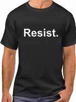 Resist Trump T Shirt Anti President T Shirt Protest Tee Political Rally2019 fashionable Brand 100%cotton Printed Round Neck T sh