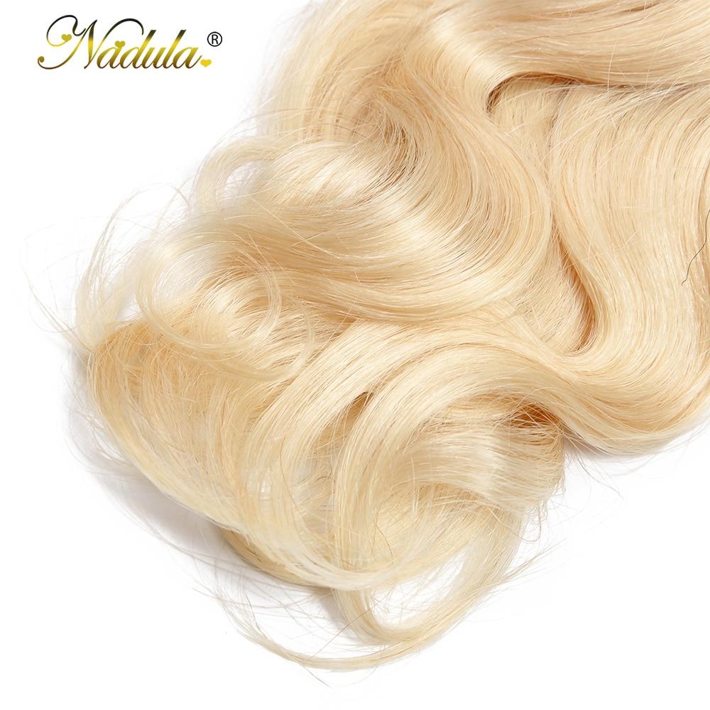 NADULA HAIR Ombre 1B/613  Body Wave Hair s 10-20inch  Bundles  Hair s  5