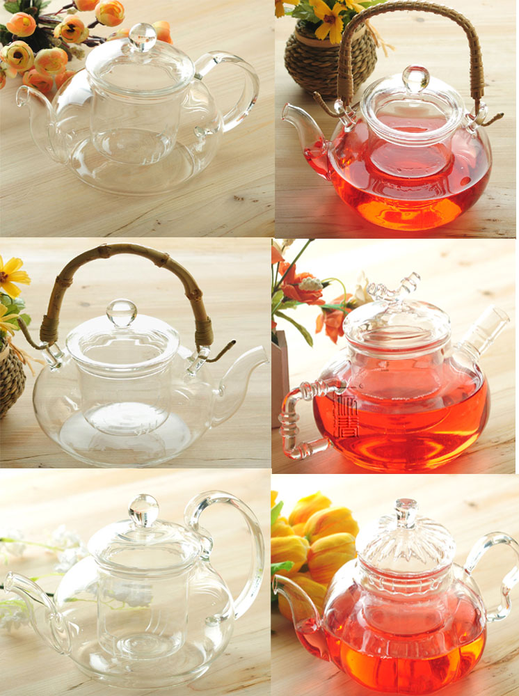 Heat resist 600ml Glass teapot with infuser/filter/strainer ,teaware,coffee pot,brew white/flower/matcha/black/Chinese/puer tea