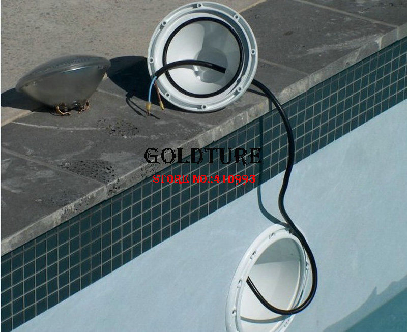 par 56 led piscine 24W 36W RGBW swimming pool led 48W 60W 72W warm white cold