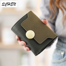Women Wallets Small Fashion Brand Leather Purse Women Ladies Card Bag For Women Clutch Women Female Purse Money Clip Wallet 264
