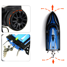 Hot Skytech H100 2.4G Remote Controlled 180 Degree Flip High Speed Electric RC Racing Boat
