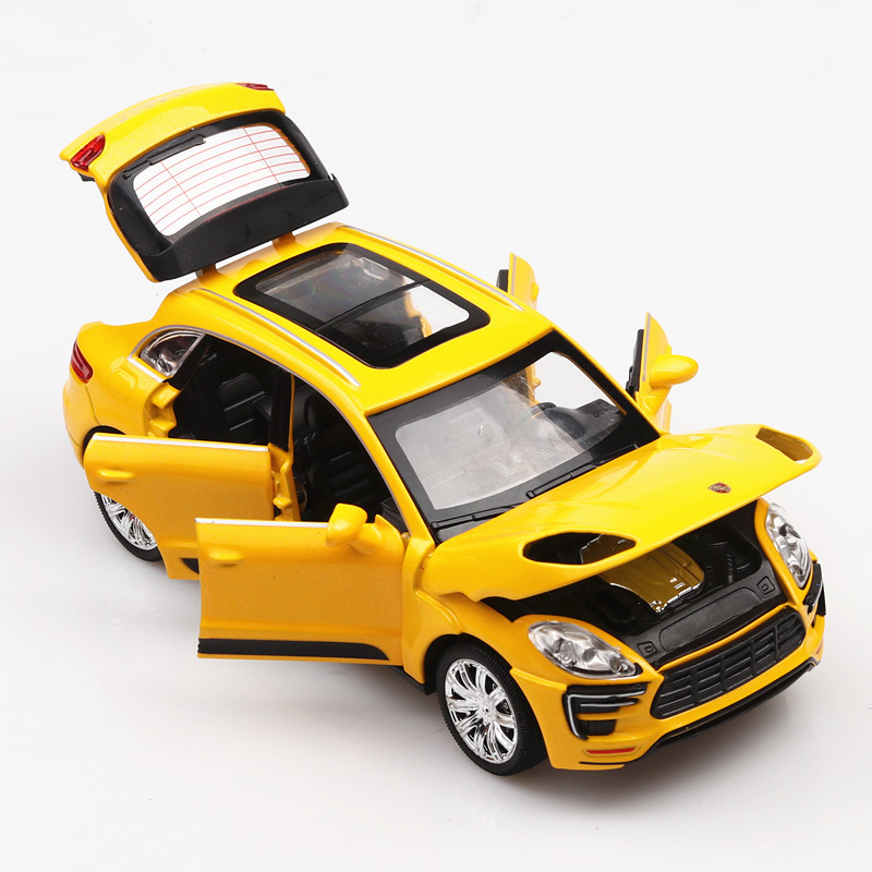 1/32 DieCast Car Model #TY8922 Six-Doors Openable 15Cm Sport Car Model Luxury Toys Car W/Music Or Lights
