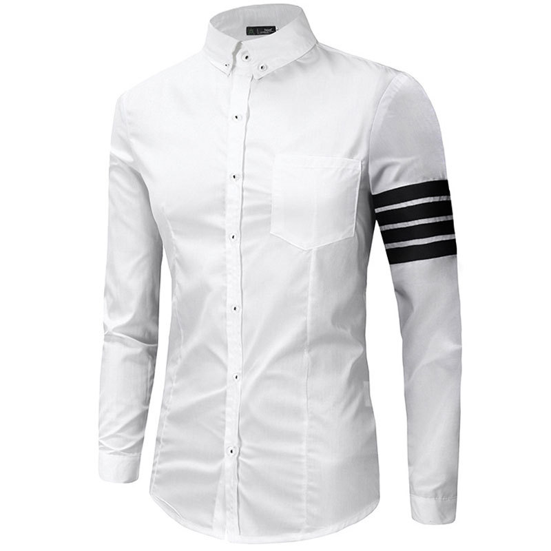 Aliexpress.com : Buy New White Men Shirt 2016 Autumn Fashion ...