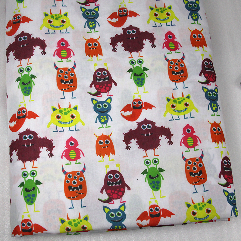 Popular monster material buy cheap monster material lots for Unique childrens fabric