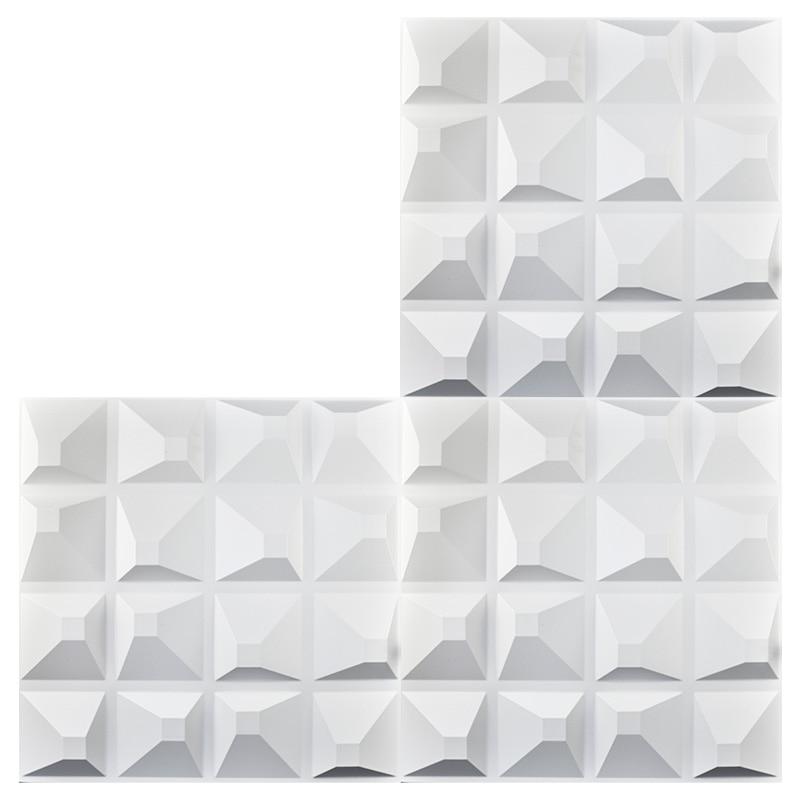Aliexpress.com : Buy Decorative Plastic 3D Wall Art Wall Tile Pack ...