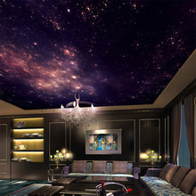 Custom 3D Star Nebula – Night Sky Wall Painting Ceiling